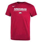 YOUTH ARKANSAS BASKETBALL RUN HOG CARD SS T-SHIRT