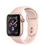 Apple Watch Series 4 Cellular 40mm - Gold w/ Pink Sand Sport Band