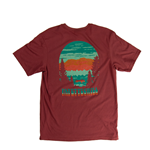 AFTERGLOW ADZUKI RED SS T-SHIRT
