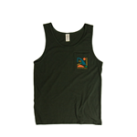 ABSTRACT OZARKS BLACK TANK