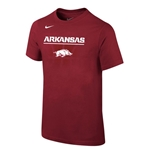 YOUTH ARKANSAS HOG CARD SS T-SHIRT
