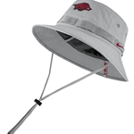 RUN HOG GREY BUCKET SIDELINE CAP