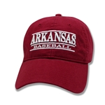 ARKANSAS BASEBALL CARD CAP