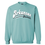 ARCHED ARKANSAS RAZORBACKS OCEAN CREW