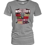 WOMENS SOLO SHOTS TICKETS HEATHER SS T-SHIRT