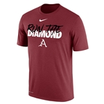 RUN THE DIAMOND CARD SS T-SHIRT