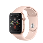 APPLE WATCH SERIES 5 GPS 40MM - GOLD W/ PINK SAND SPORT BAND