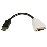 StarTech.com DisplayPort To DVI Adapter - Passive - 1080p - DP to DVI - Display Port to DVI-D Adapter