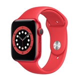 Apple Watch Series 6 GPS 40mm (PRODUCT) RED Aluminum Case W/ (PRODUCT) RED Sport Band
