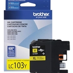 BROTHER LC103YS HY YELO INK
