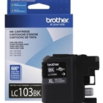 BROTHER LC103BKS HY BLACK INK