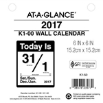 17 AAG DLY TODAY IS WALL 6X6