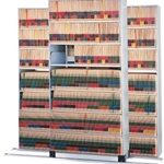 4POST SHELVING ADDER LTR BLK