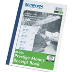 $ RECEIPT BOOK 2PT CARBONLESS