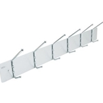 6 HOOK WALL RACK