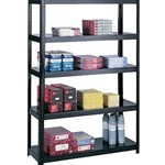 48X18 BOLTLESS SHELVES BLK