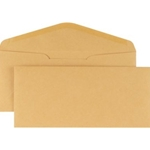 #10 BROWN KRAFT ENV 28# 500CT