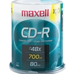 MAXELL 100PK CD-R SPINDLE