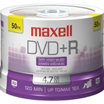MAXELL 50PK DVD+R SPINDLE