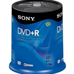 SONY 100PK DVD+R SPINDLE