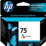 HP 75 TRI-COLOR INK
