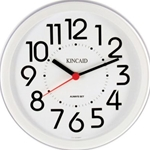 8.5IN WHITE CUBIVLE WALL CLOCK