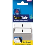 AVERY NOTETAB 1.5X2 1-10 2