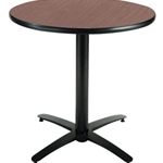 30IN ROUND PEDESTAL TABLE MAH