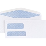 #10 DBLE WINDOW ENVELOPE 500CT