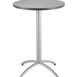 30IN ROUND BISTRO TABLE GRAY