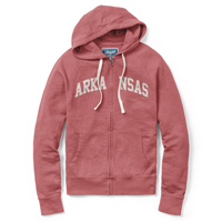 ARCHED ARKANSAS HEATHER CARD SWEATSHIRT