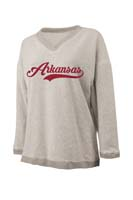 ARKANSAS NATURAL VNECK SWEATER