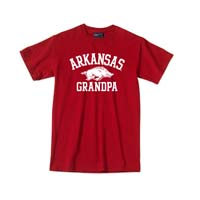 ARKANSAS OVER HOG OVER GRANDPA TEE