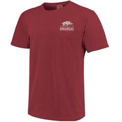 OLD MAIN COMFORT COLORS CHILI SS T-SHIRT