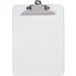 STAPLES CLEAR CLIPBOARD 9X12