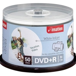 16X DVD+R INKJET PRINT SPINDLE